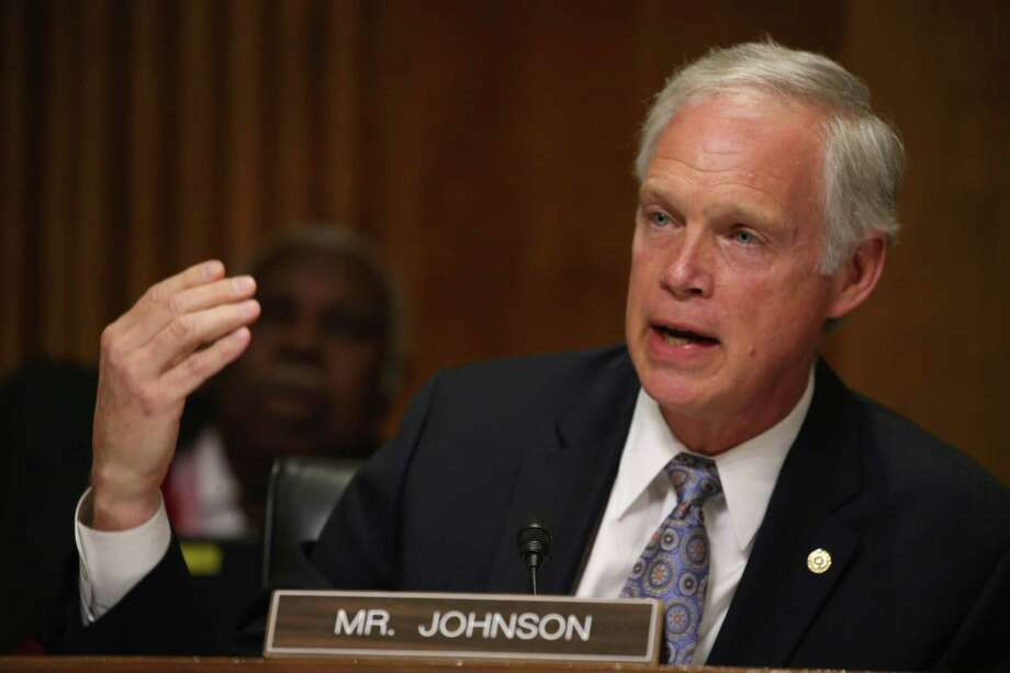 Wisconsin's Ron Johnson was one of 47 GOP signers of the letter. Photo: Mark Wilson /Getty Images / 2015 Getty Images