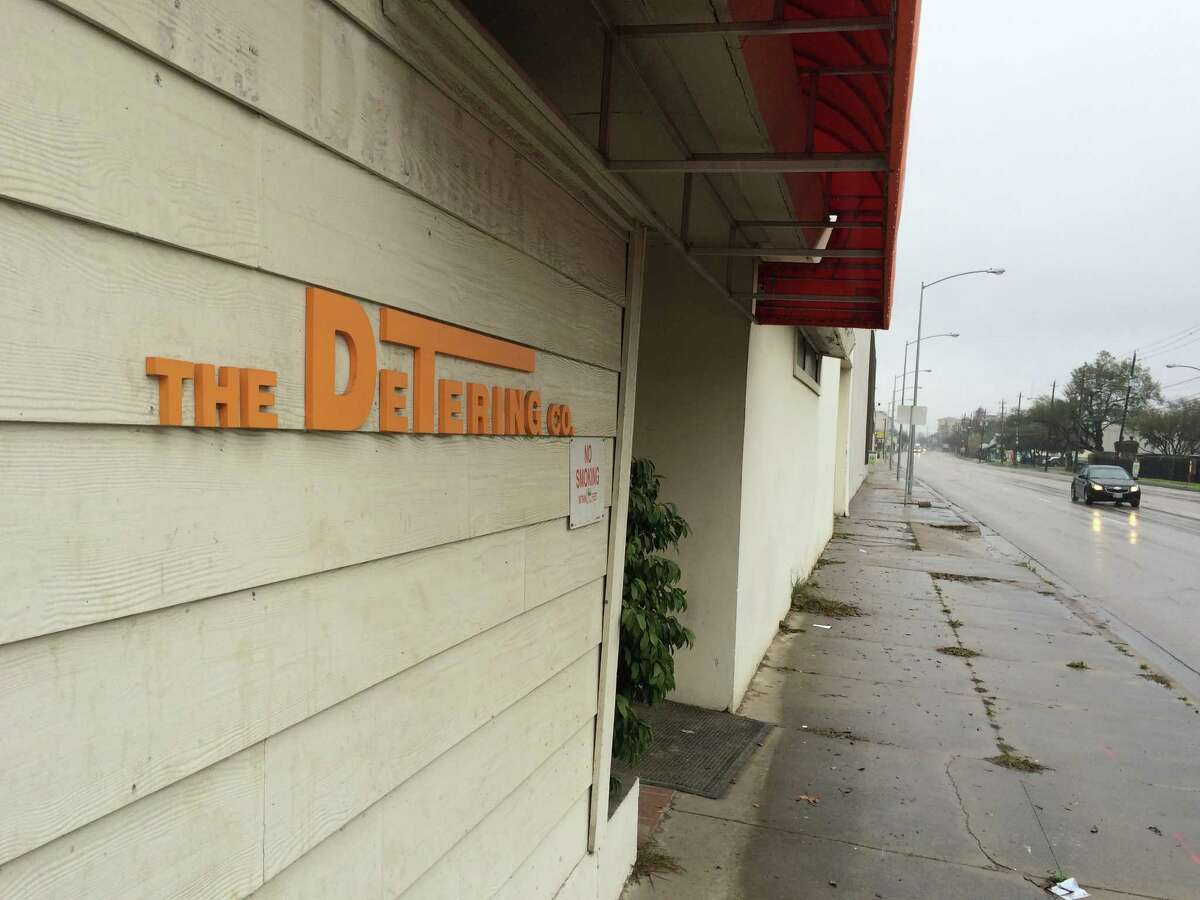 The Detering Co. has moved from its valuable spot at 3028 Washington to north Houston.
