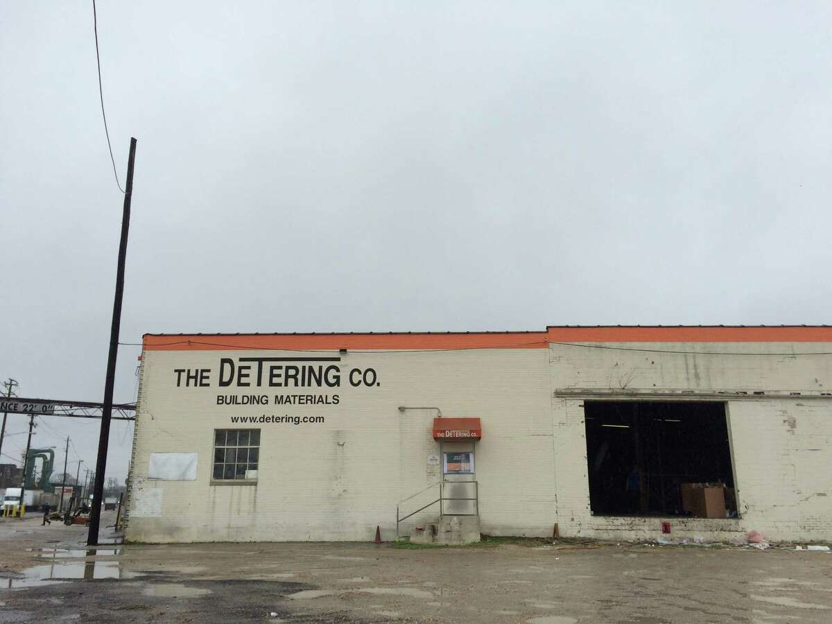 The former Detering Co. headquarters at 3028 Washington Ave. just east of Studemont.