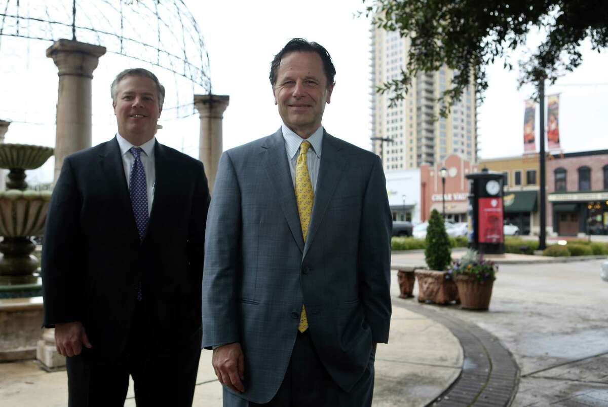 Chad Braun, managing director, and Terry Brown, chairman and CEO of Edens on Friday, March 13, 2015, in Houston. ( Mayra Beltran / Houston Chronicle )