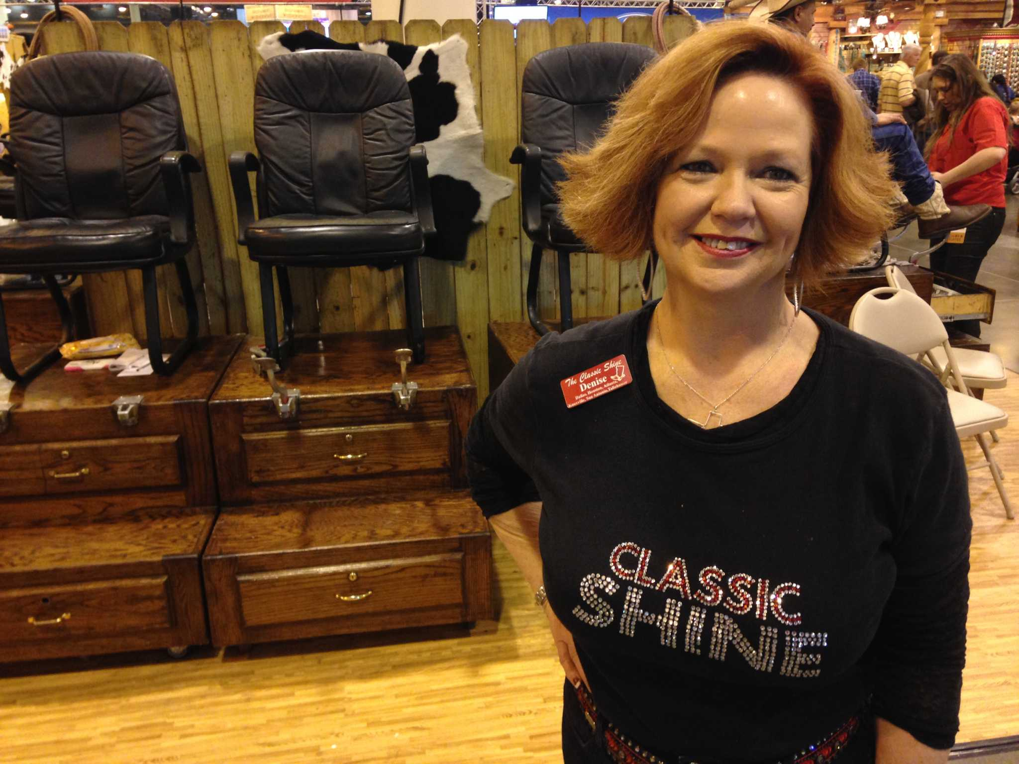 Boot Shiners A Staple At Rodeohouston Houstonchronicle