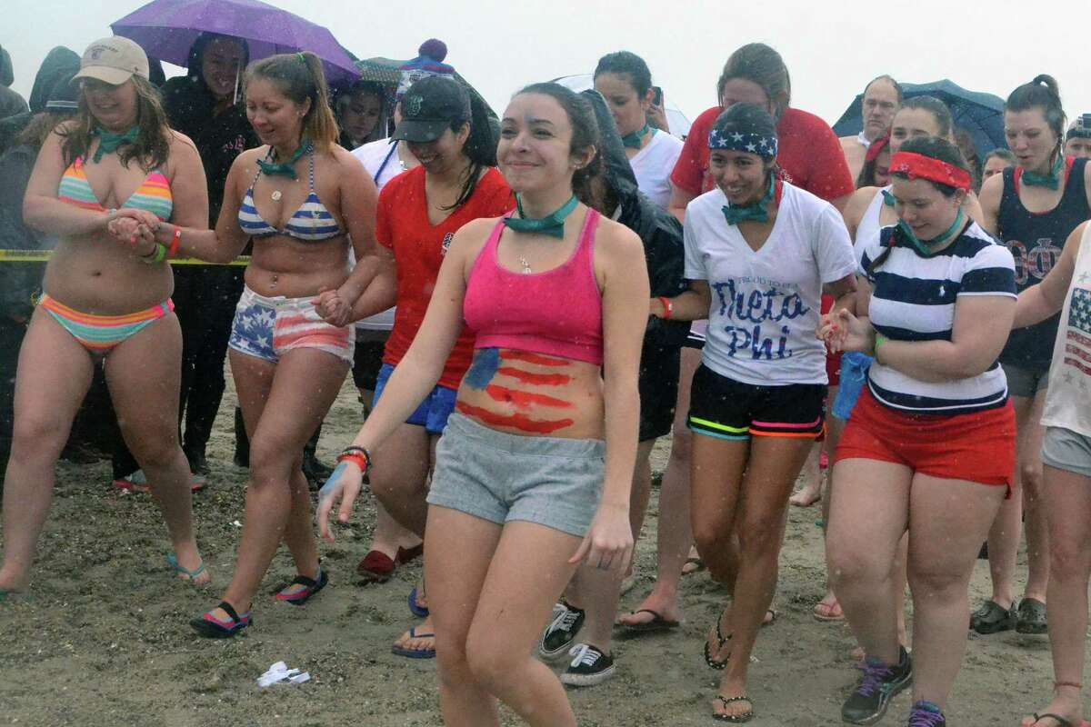 Westport's annual penguin plunge to benefit Special Olympics Connecticut took place March 14, 2015 at Compo Beach. Were you SEEN?