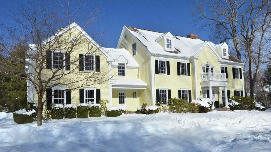 The property at 401 Wahackme Road is on the market for $2,729,000. Photo: Contributed Photo / New Canaan News