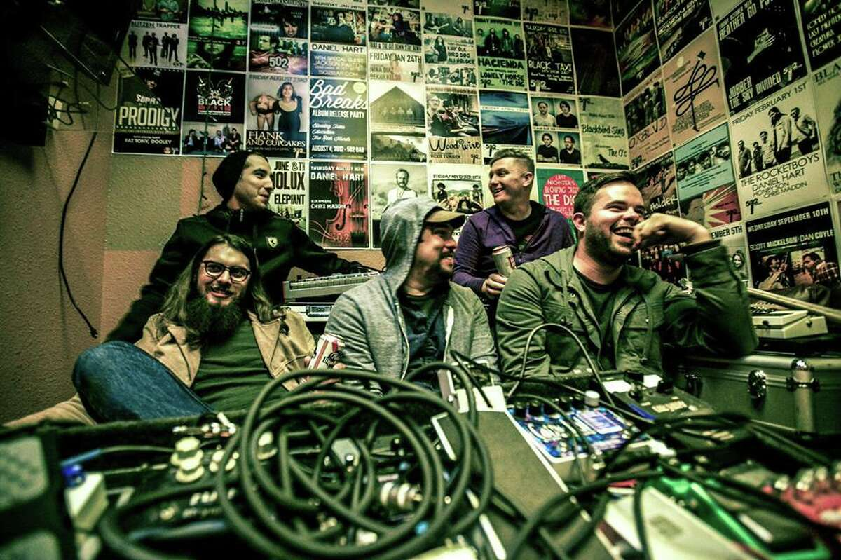 SATURDAY San Antonio band Bright Like the Sun is known for its optimistic take on an atmospheric genre dubbed