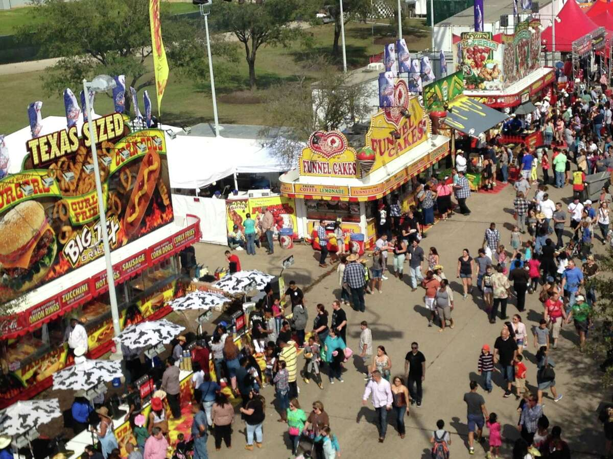 PHOTOS: Best and worst Rodeo Carnival ridesThe Houston Livestock Show and Rodeo's carnival on Saturday, March 14, 2015, from the Sky Ride.>>>See more for the best and worst carnival rides at the Houston Rodeo...