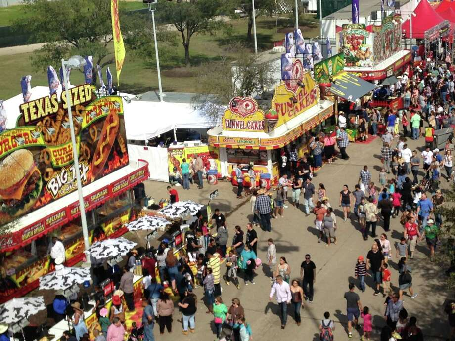 PHOTOS: Best and worst Rodeo Carnival ridesThe Houston Livestock Show and Rodeo's carnival on Saturday, March 14, 2015, from the Sky Ride.>>>See more for the best and worst carnival rides at the Houston Rodeo... Photo: Andrea Rumbaugh