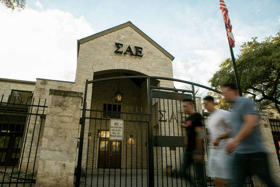 The University of Texas launched an investigation after its chapter of Sigma Alpha Epsilon was accused of reciting the same racist chant that got the University of Oklahoma's chapter disbanded. Photo: Ilana Panich-Linsman / 534572