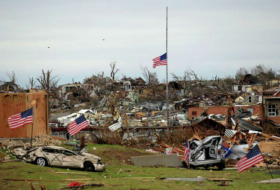 David Wallace, former Sugar Land mayor and self-styled development guru, had the people of Joplin, Mo., convinced that he could bring their tornado-traumatized city back from ruin in 2011. The $800 million plan he and partner Costa Bajjali had extolled came to nothing, though, and by January 2015 the two had disappeared. Photo: Charlie Riedel, STF / AP