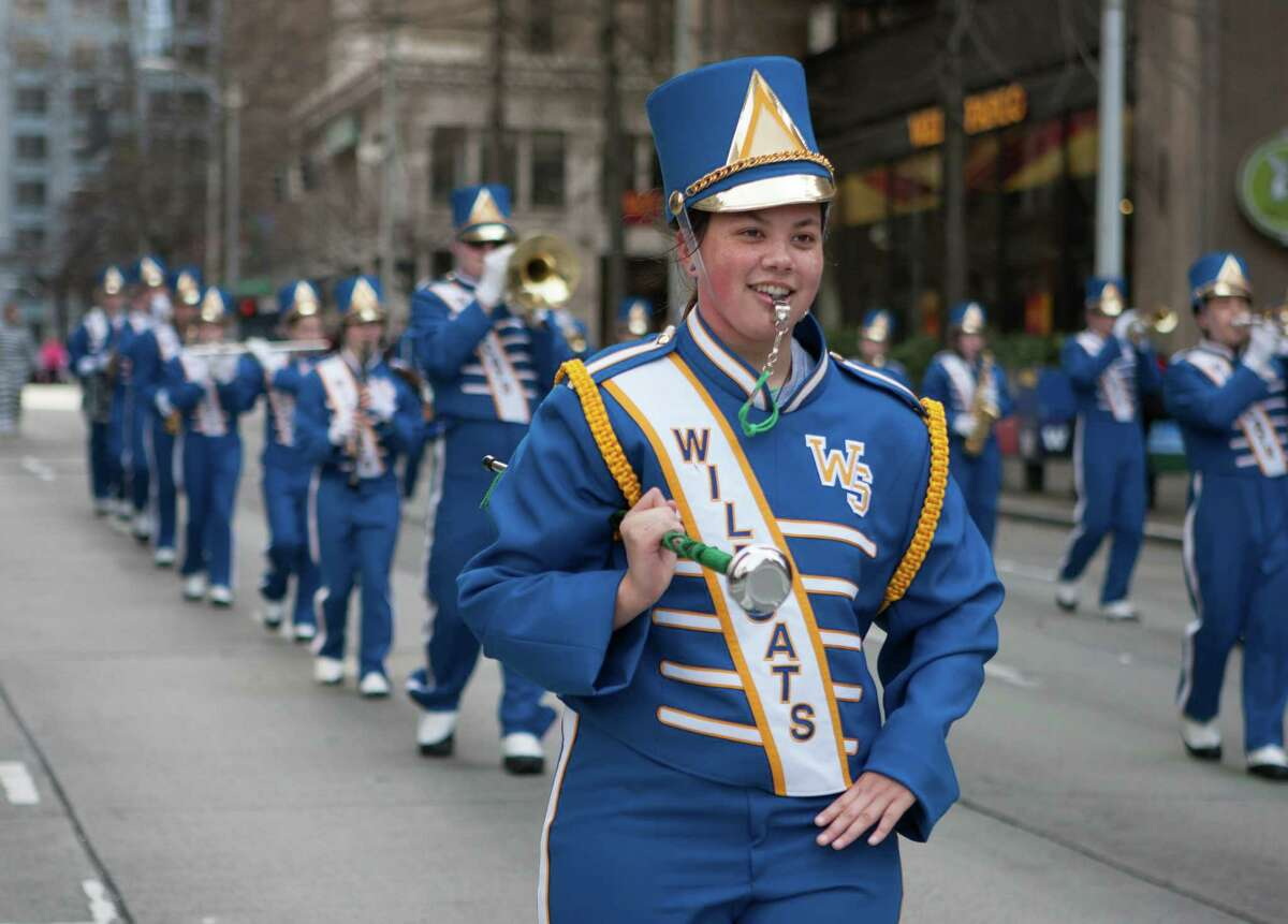 Here they are photographed in the 2015 St. Patrick's Day parade.