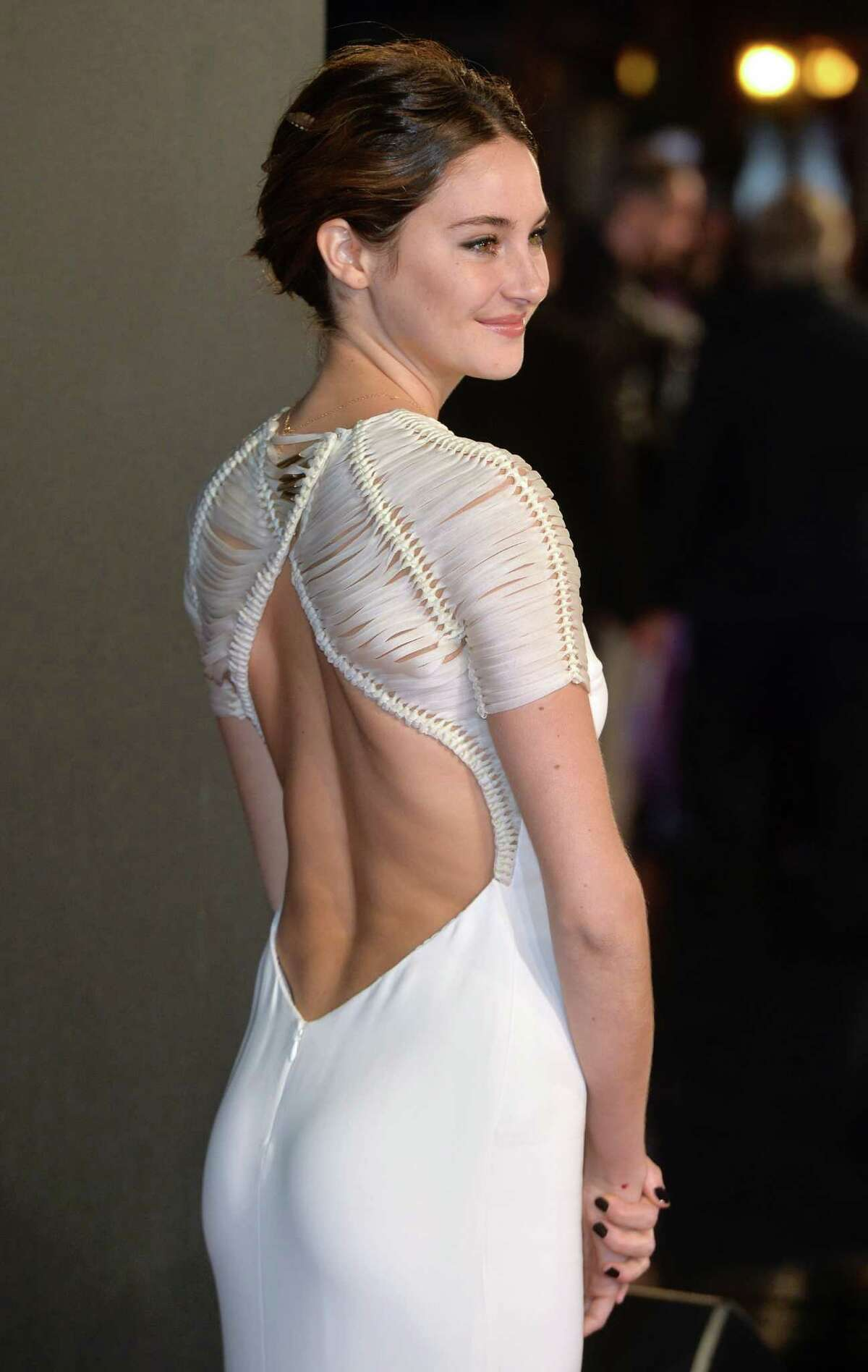 Shailene Woodley attends the World Premiere of