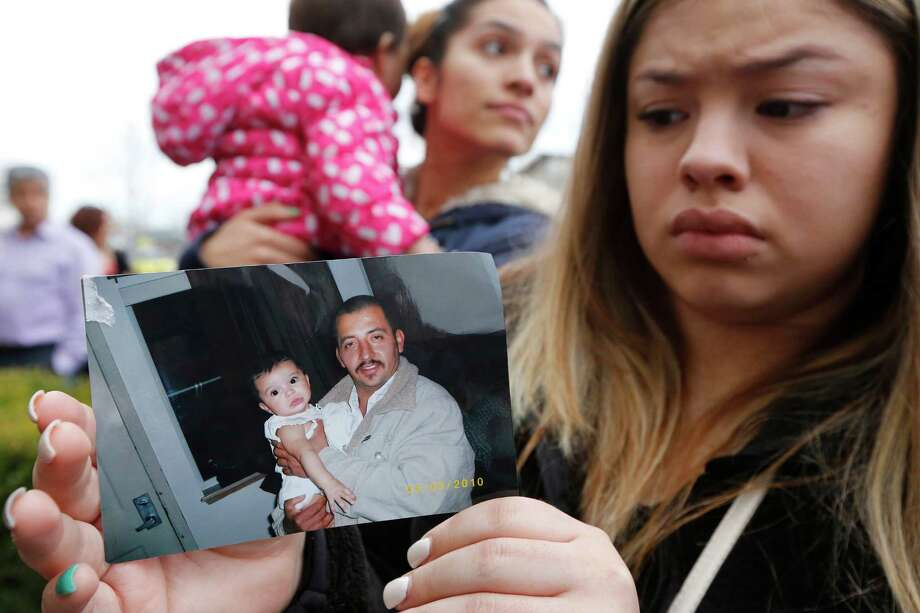 About 100 people attended a rally at Pasco City Hall for shooting victim Antonio Zambrano-Montes last month in Pasco, Wash. The unarmed Zambrano-Montes was reportedly shot several times by the police after running away from them. Pasco police said he was throwing rocks at the police and into the traffic when they attempted to subdue him in a mostly Latino neighborhood. Photo: Bob Brawdy /McClatchy-Tribune News Service / McClatchy DC