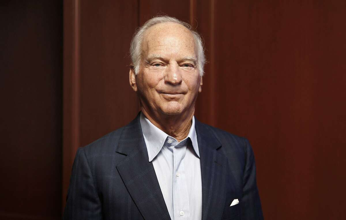 Co-Chairman and Co-Chief Executive Officer George Roberts of private equity firm KKR seen in the office in Menlo Park, California on Friday, February 20, 2015.