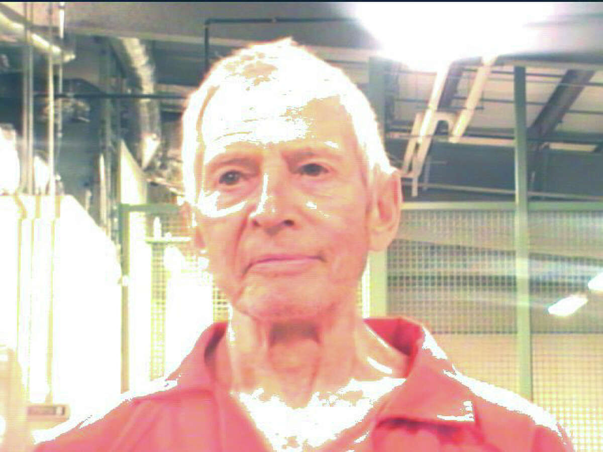 An undated handout photo of Robert Durst after his arrest on March 14, 2015. Durst, the scion of a New York real estate family, was arraigned on Sunday morning in New Orleans after being arrested on first-degree murder charges in the 15-year-old killing of a friend of Durst's, Susan Berman, according to his lawyer. (Orleans Parish Sheriff's Office via The New York Times) -- EDITORIAL USE ONLY