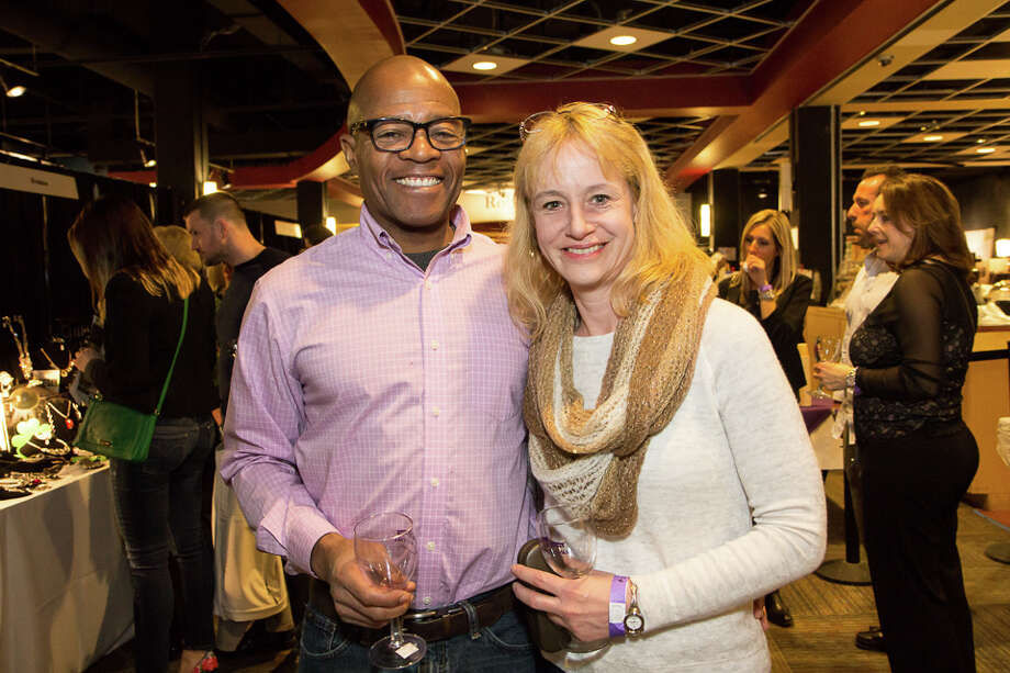 "Were You Seen at the Capital Region Wine Festival ""Romancing the Grape"" at Proctors in Schenectady, NY on Saturday, March 14, 2015? Photo: Brian Tromans"