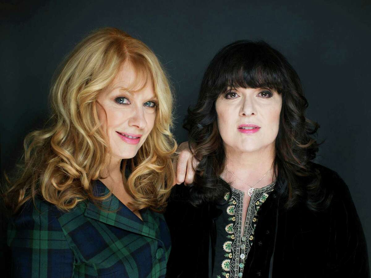 This Oct. 1, 2012 file photo shows sisters Nancy, left, and Ann Wilson from Heart in New York. The eclectic group of rockers Rush and Heart, rappers Public Enemy, songwriter Randy Newman,