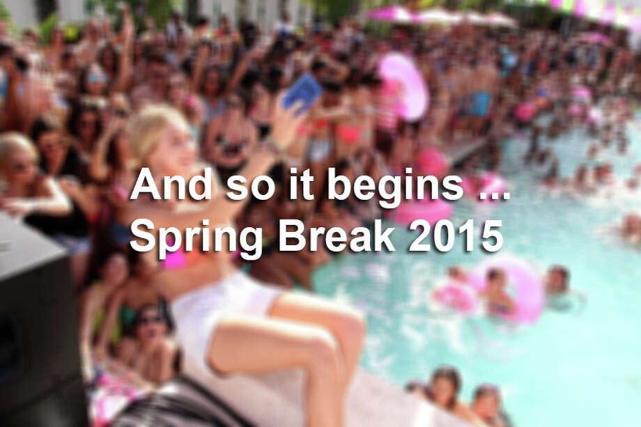 Scenes from spring break 2015 Photo: John Parra, San Antonio Express-News / 2015 Getty Images
