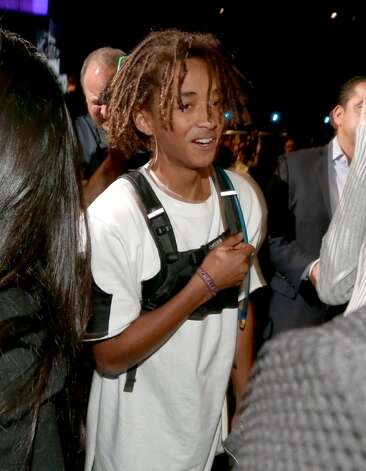Actor/singer Jaden Smith attends The Comedy Central Roast of Justin Bieber at Sony Pictures Studios on March 14, 2015 in Los Angeles, California. The Comedy Central Roast of Justin Bieber will air on March 30, 2015 at 10:00 p.m. ET/PT. Photo: Christopher Polk, Getty Images