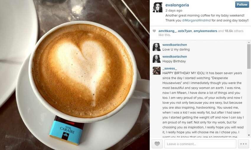 Eva Longoria's 40th birthday celebration in San Antonio. See more of Eva's photos on Instagram.
