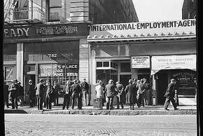 Employment agency. San Francisco, California San Francisco, California  in Feb. 1937.