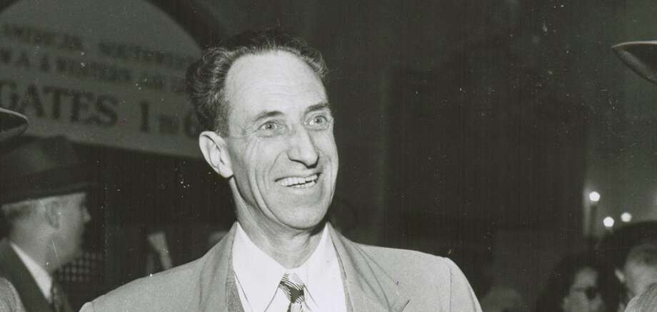 Union leader Harry Bridges in 1949. Photo: Duke Downey / Duke Downey / The Chronicle 1949 / sfc
