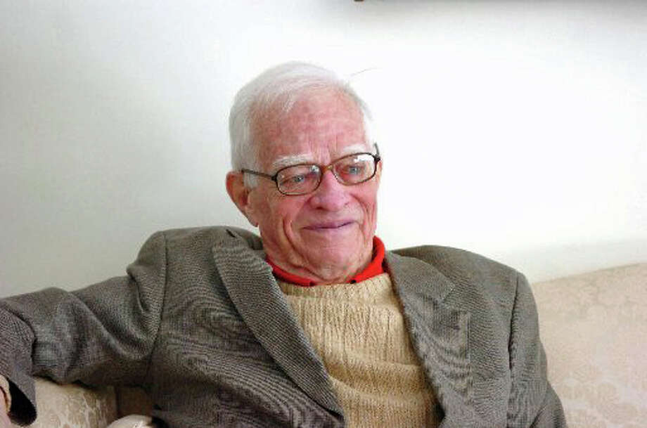 """Bill Ewald is remembered by his longtime Greenwich friend Jack Bausman, retired correspondent for the Associated Press: ìBill was a very wise man on political matters and I always enjoyed talking with him and getting the advantage of his insight on current issues.  He knew the smart questions to ask when seeking information on which to base his views. We will miss him greatly. President Eisenhower was fortunate to have him on his staff."""" Photo by Keelin Daly. Photo: Contributed Photo / Greenwich Time Contributed"""