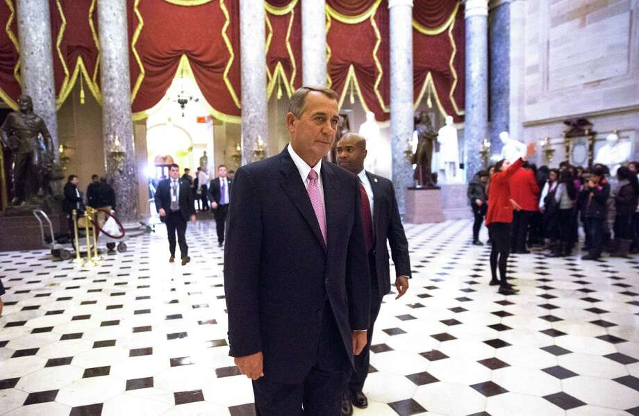 House Speaker John Boehner should bring more legislation to the floor for a full House vote instead of giving the radical Tea Party Caucus the power to block legislation supported by a majority of Congress. Photo: DOUG MILLS /New York Times / NYTNS