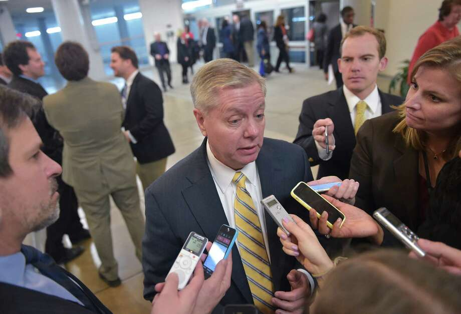 Don't bother looking for South Carolina Sen. Lindsey Graham's emails. He has never sent an email — not even one. Photo: Mandel Ngan /AFP / Getty Images / AFP