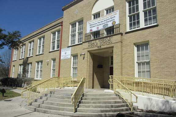 The former Wheatley High School building is now the Phillis Wheatley Middle School on the city's east side. It's named for an ex-slave who was the first woman and first African American to publish a book of poems in the United States.The school was recently renovated.