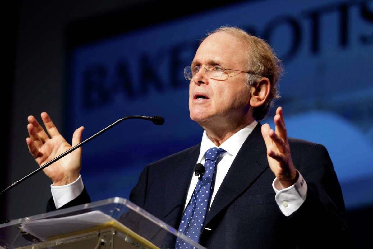 """Daniel Yergin, vice chairman of IHS, says oil prices are falling because of high inventories, even as traders have been """"wishing them away."""" ( Brett Coomer / Houston Chronicle )"""