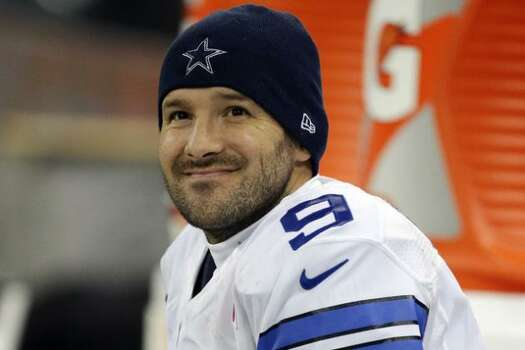 Cowboys QB Tony Romo on Kimmel Wednesday. Photo: AP