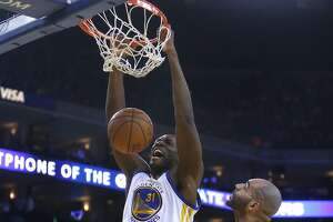 Warriors' center Ezeli can make big impact down the stretch - Photo