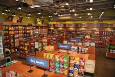 The layout of a Kriser's store shos treats, supplies and more.