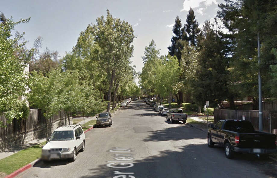 Two bodies were discovered at an apartment complex on the 600 block of River Glen Drive in Napa. Photo: Google Maps