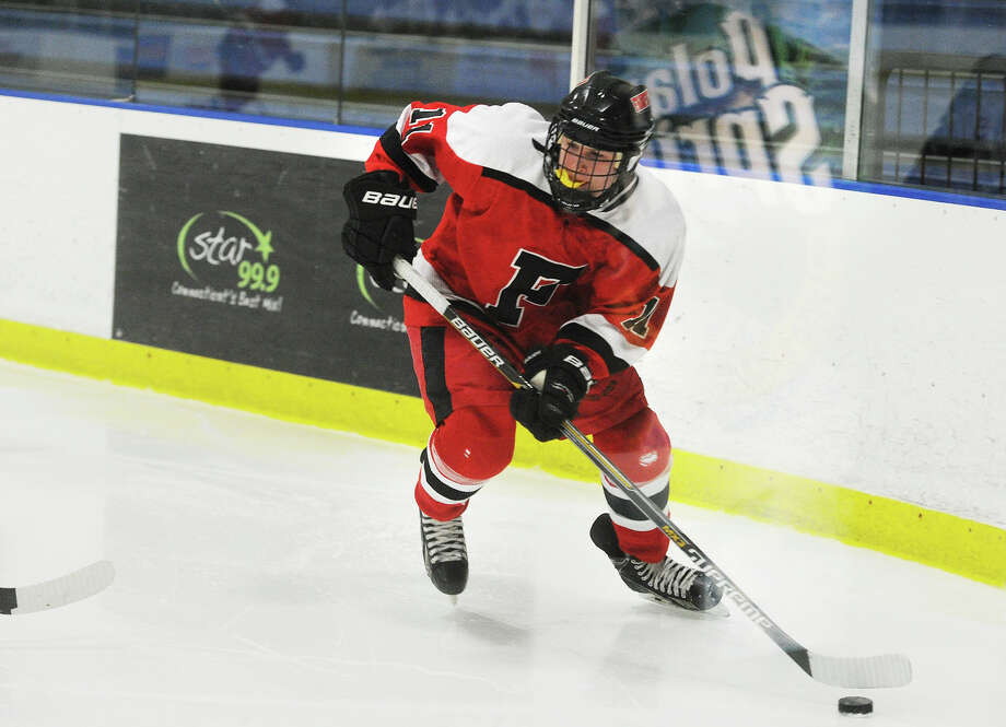 Jake Fuss, Fairfield co-op hockey. Citizen athlete of the week. Photo: Brian A. Pounds / Connecticut Post