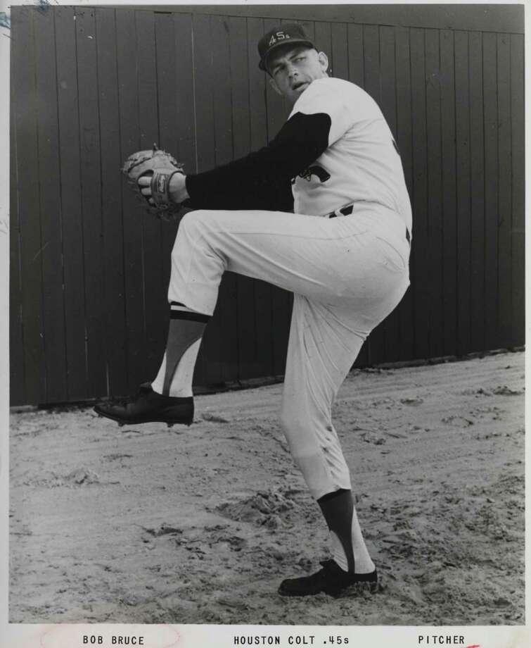 1965: Bob Bruce Photo: Colt 45s / handout