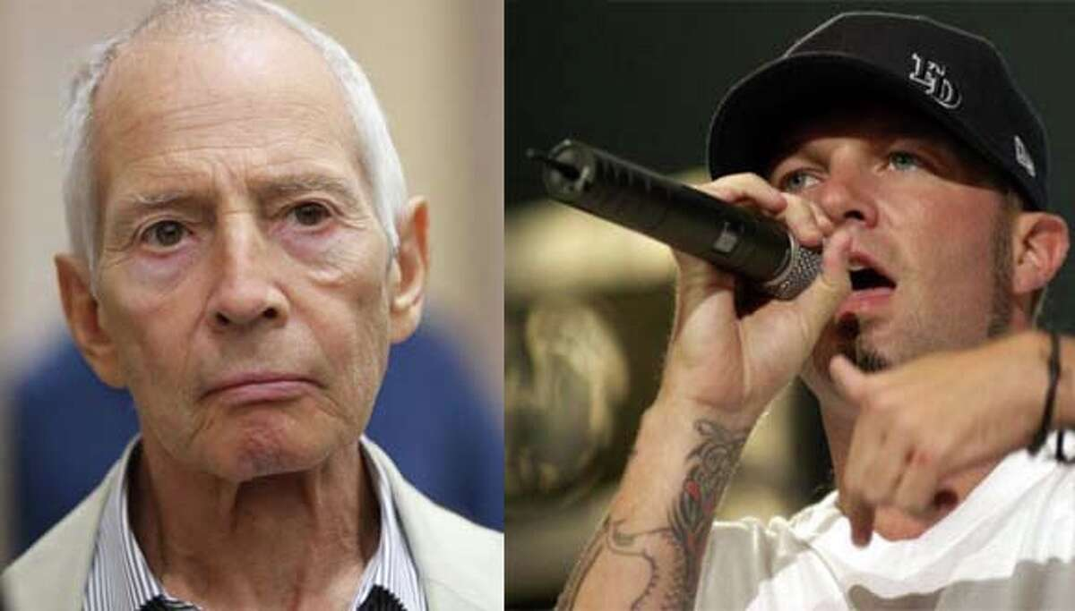 Not to be confused: Real estate heir Robert Durst (left) and former Limp Bizkit singer Fred Durst (right). The Associated Press sent out a correction after calling accused murderer Robert Durst, the ex-frontman for the 90s nu metal band Limp Bizkit.