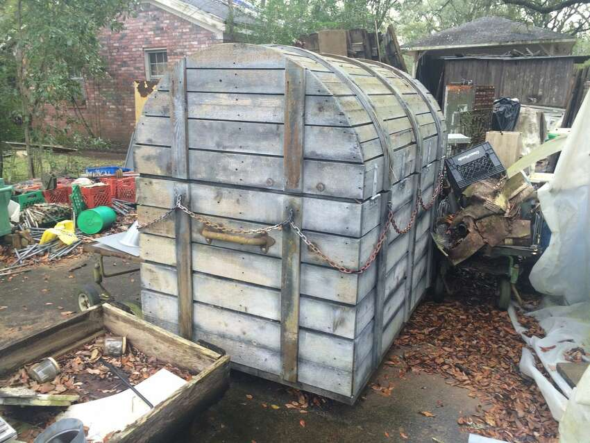 Native Houstonians no doubt have fond memories of Six Flags AstroWorld, the theme park that left Houston nearly a decade ago. An eBay account run by the Hahn family of Houston is currently selling off random pieces of the park that have been sitting in the elements. According to the account, the items were purchased at the auction held soon after the park was officially closed on October 30, 2005.