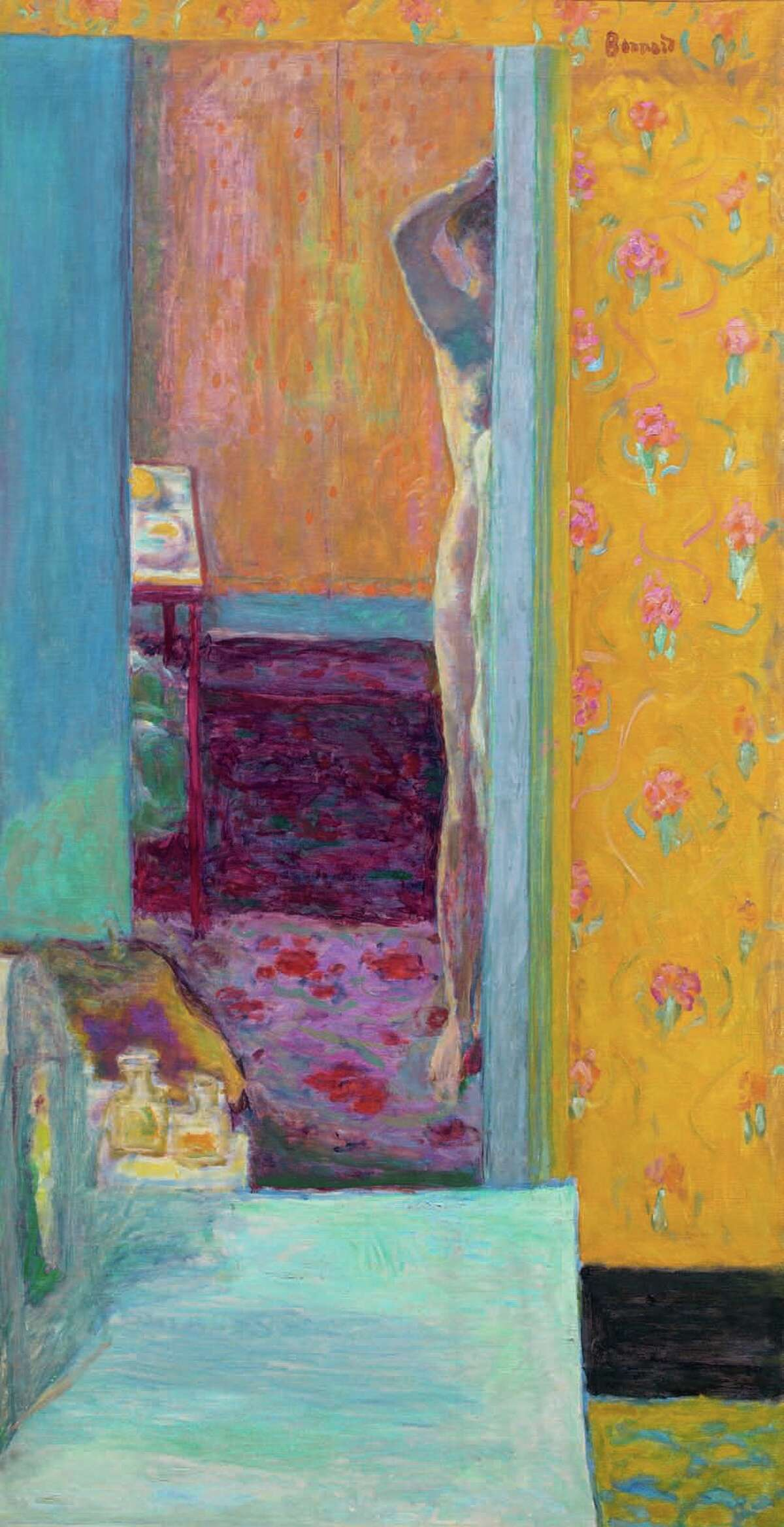 """Colin Bailey arranged """"Pierre Bonnard: Painting Arcadia"""" for the Legion in 2016; above, Bonnard's """"Nude in an Interior."""""""