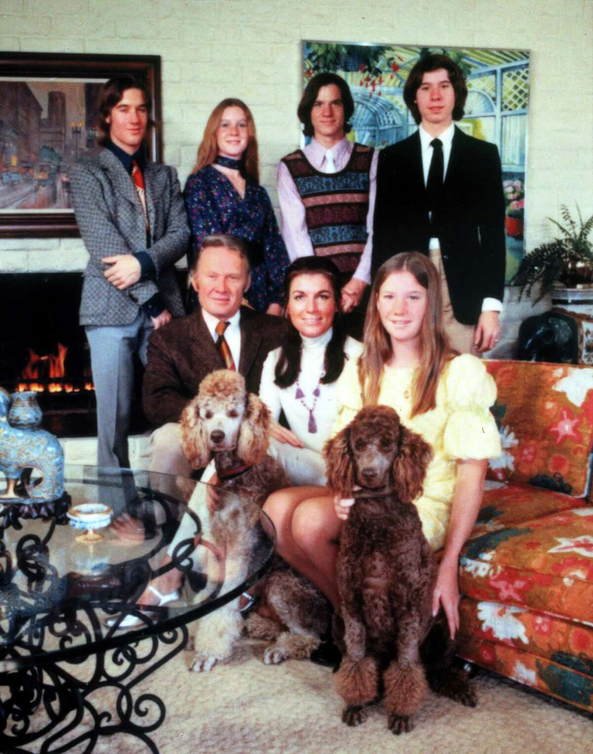 The Louds, 'An American Family' (1973) Two of the members of the Loud family - immortalized in the PBS documentary series