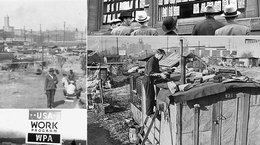 Seattle in photos during the great depression for Swanson s fish market