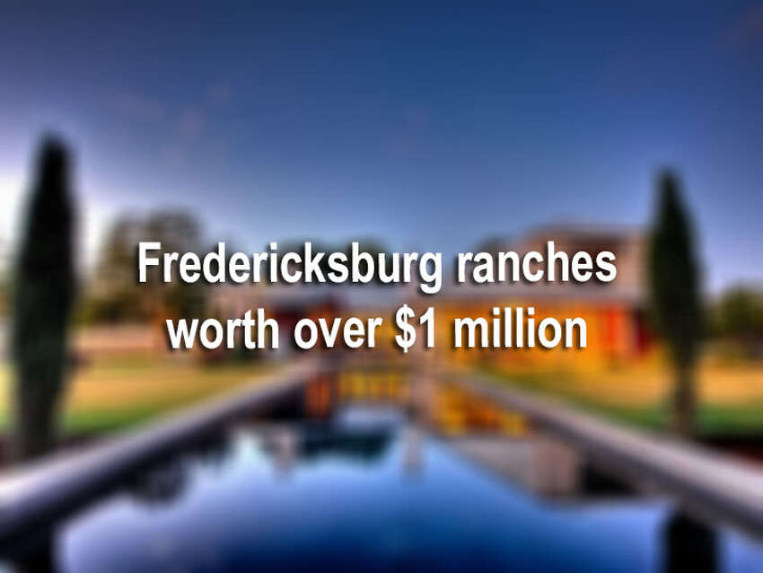 Fredericksburg is moving up in the ranks for real estate and millionaires. Just last week, the Express-News reported that the city was named the top Texas town with the most millionaires. We picked 14 lavish ranches for sale in the Hill Country town, which also rank in the million-dollar range. Click though the slideshow to see 14 chic Fredericksburg ranches that are currently on the market.