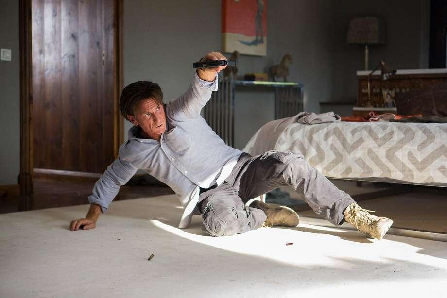 "Sean Penn as Jim Terrier in ""The Gunman."" Photo: Keith Bernstein, McClatchy-Tribune News Service"