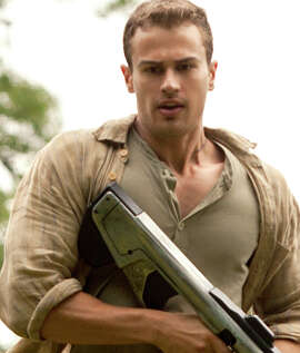 """Theo James in """"Insurgent"""": The sci-fi adventure is not a must for your bucket lis."""