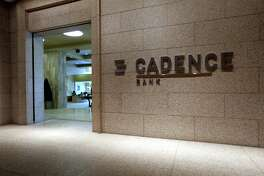 Cadence Bank branch at Williams Tower Tuesday, March 17, 2015, in Houston, Texas. ( Gary Coronado / Houston Chronicle )