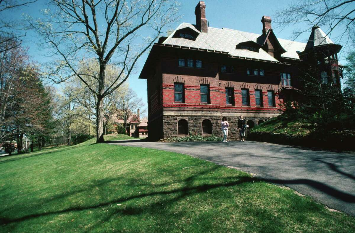 The Mark Twain House and Museum in Hartford was the home of the famous author from 1871 to 1891.