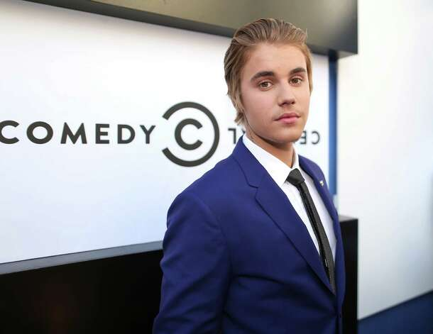 LOS ANGELES, CA - MARCH 14:  Honoree Justin Bieber attends The Comedy Central Roast of Justin Bieber at Sony Pictures Studios on March 14, 2015 in Los Angeles, California. Photo: Christopher Polk, Getty Images / 2015 Getty Images