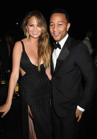 LOS ANGELES, CA - MARCH 14:  Model Chrissy Teigen (L) and recording artist John Legend attend The Comedy Central Roast of Justin Bieber at Sony Pictures Studios on March 14, 2015 in Los Angeles, California. The Comedy Central Roast of Justin Bieber will air on March 30, 2015 at 10:00 p.m. ET/PT. Photo: Jeff Kravitz, FilmMagic / 2015 Jeff Kravitz