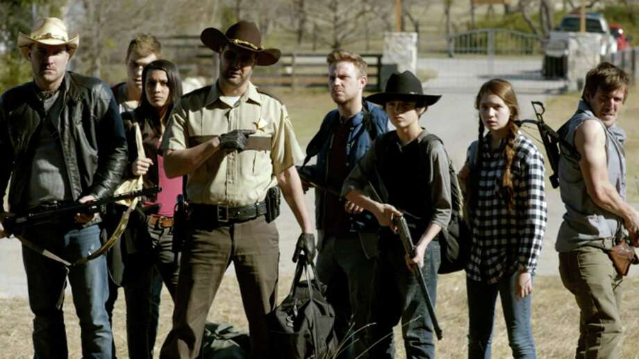 """A scene from comedy-horror film, """"The Walking Deceased."""" Photo: Tribune News Service / Arc Entertainment"""