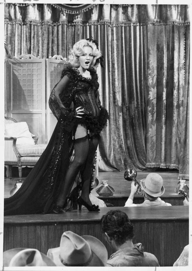 "Madeline Kahn stars in the comedy ""Blazing Saddles.""  / handout print"
