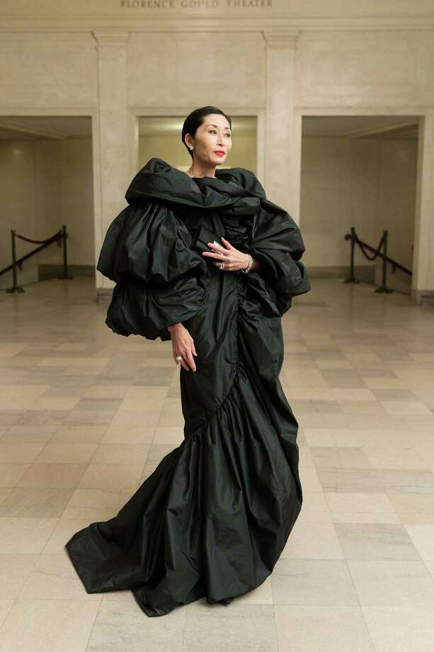Yurie Pascarella at the Black-Tie Opening Dinner for the Legion of Honor's new exhibition, High Style: The Brooklyn Museum Costume Collection, on March 11, 2015. Photo: Drew Altizer, Drew Altizer Photography / Drew Altizer Photography